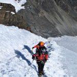 climbing Pequeno Alpamayo