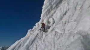 Tocllaraju climb